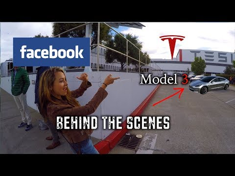 Inside Facebook, Tesla & Seeing a Model 3!