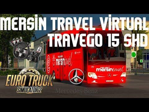 ETS 2 / Mersin Travel Virtual - Mersin - Ankara / Sefer 1 ► Logitech G27