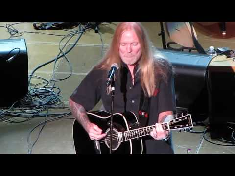 The Speaking Clock Revue ~ Gregg Allman ~ Floating Bridge
