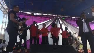 Live wire Toby bisengo  at ikinya#myello concert athiriver