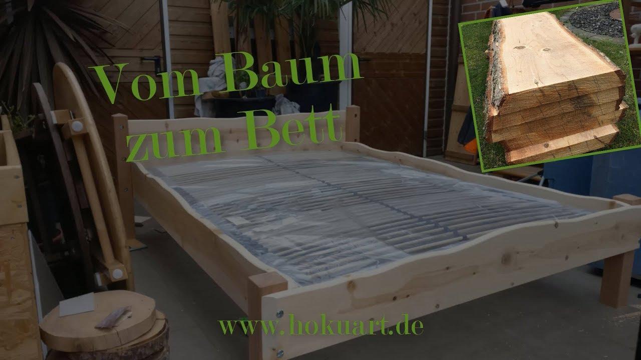 Vom Baum Zum Bett | Bett bauen