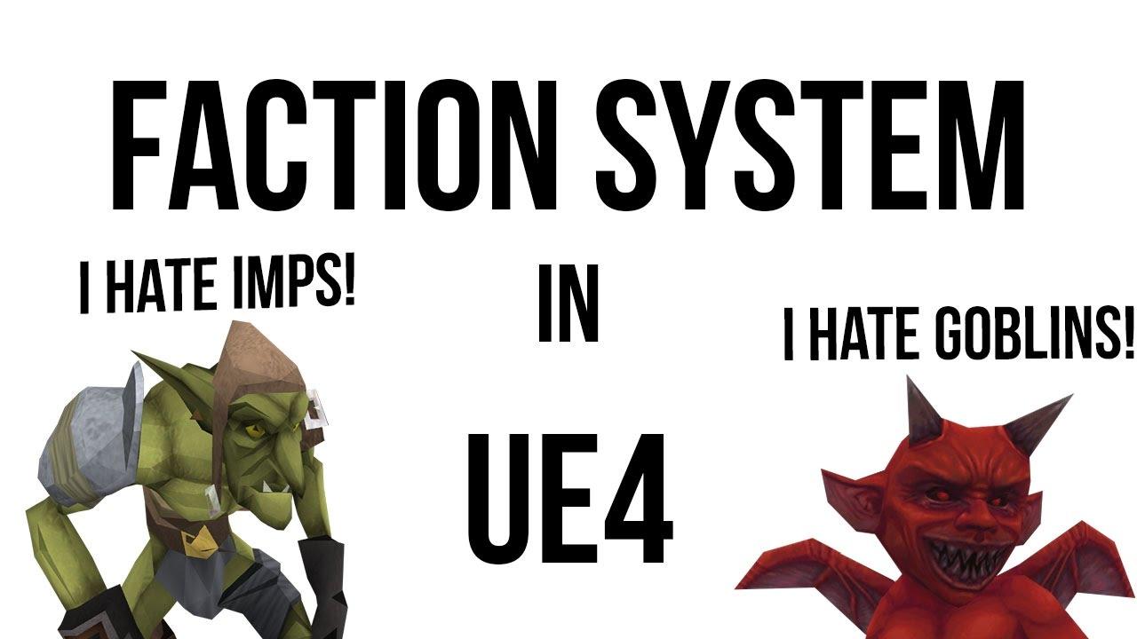 Pawafuru Engine Faction System: Unreal Engine Tutorial