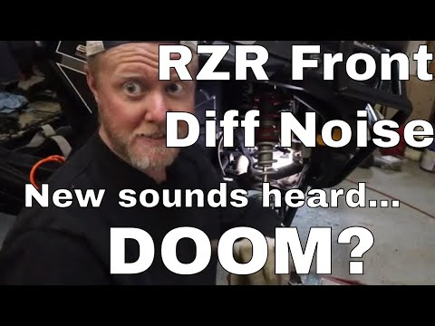 Rzr 1000 Front Diff Noise Issues And Troubleshooting Youtube