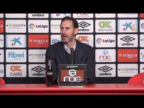 Vicente Moreno post RCD Mallorca-Málaga CF 1-2 J17