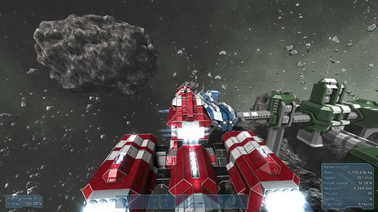 Space Engineers Awesome Ship Destruction Youtube