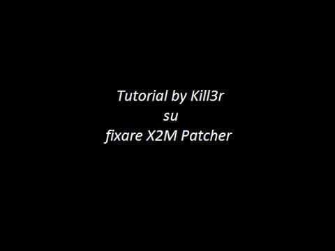 Tutorial X2M Errore