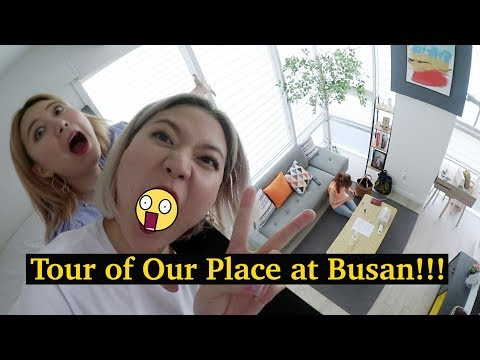 Tour of Our Place at Busan + IU Took MV at This Cafe