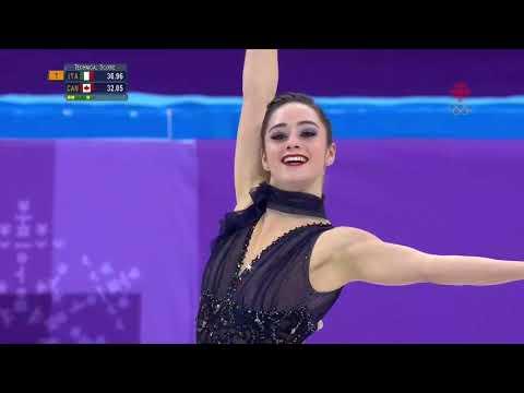 Kaetlyn OSMOND CAN Short Program Team Pyeongchang 2018