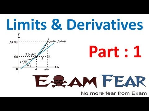 Maths Limits and Derivatives part 1 (Introduction to Calculus) CBSE class 11 Mathematics XI