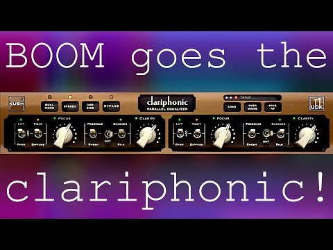 Boom goes the Clariphonic!