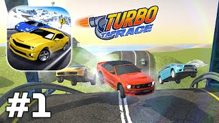 Turbo Tap Race - Easy one TAP racing Gameplay Walkthrough Android iOS Part 1