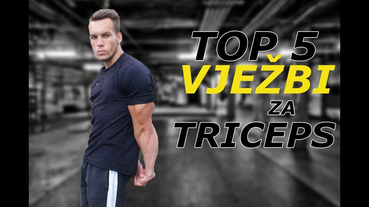 TOP 5 VJEŽBI ZA TRICEPS! Calisthenics - Chile