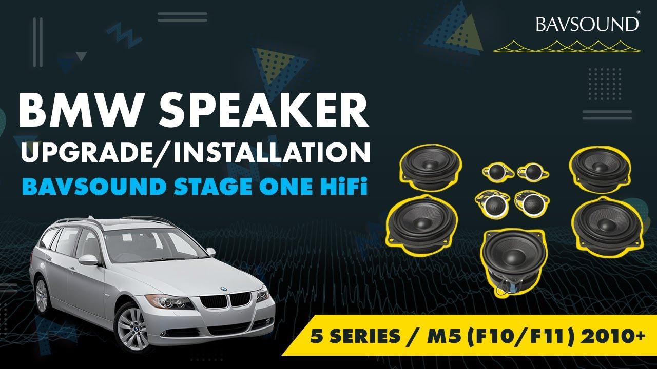 BAVSOUND - BMW 5 Series / M5 (F10/F11) 2010+ Stage One HiFi Speaker ...