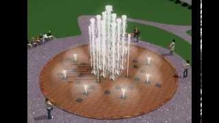 Проект пешеходного фонтана в Курске(, 2015-06-24T10:27:23.000Z)