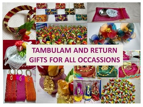 Wedding Gift Bags Mumbai : TAMBULAM AND RETURN GIFTS ITEMSYouTube