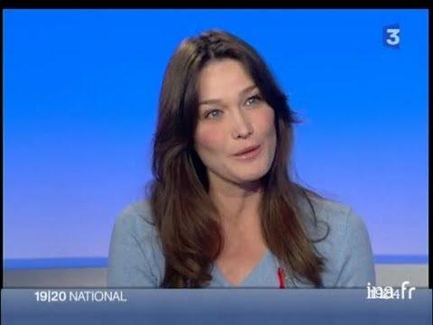 Plateau invitée : Carla Bruni