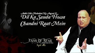 Dil Ka Sauda Howa Chandni Rat Men | Nusrat Fateh Ali Khan | HD Audio | Fans Of NFAK