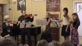 Ансамбль скрипачей – «Странники», А. Рамирес