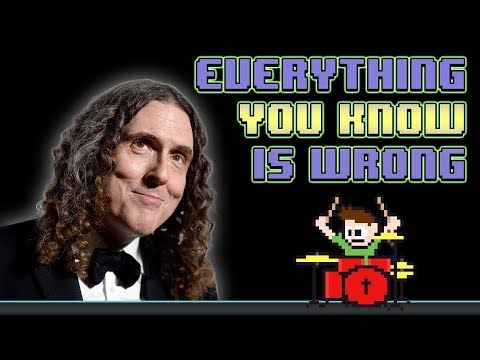 Weird Al Yankovic - Everything You Know Is Wrong (Drum Cover) -- The8BitDrummer