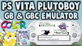 NEW! Ps Vita GB & GBC Emulator! (PlutoBoy)