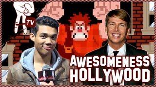 Wreck-It Ralph Premiere: Bella Thorne, Peyton List, Roshon Fegan - Awesomeness Hollywood
