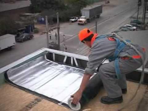 Membrana foil de aluminio youtube for Materiales para toldos de aluminio