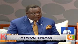 She's my lovely wife, Atwoli clears air over relationship with TV beauty