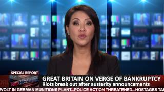 BREAKING: Riots Break Out in Great Britain as an Economic Crisis Looms