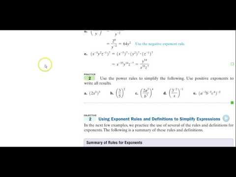 tb 1103 5.2 More on Exponents & Scientific Notations