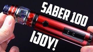 A+ FLAVOR! The Saber 100 Kit By iJOY!