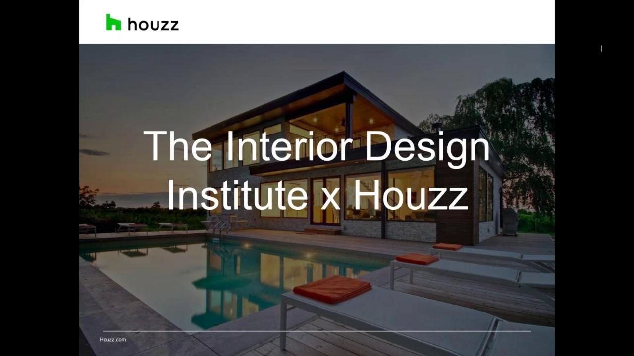 Houzz Australia   The Interior Design Institute Webinar