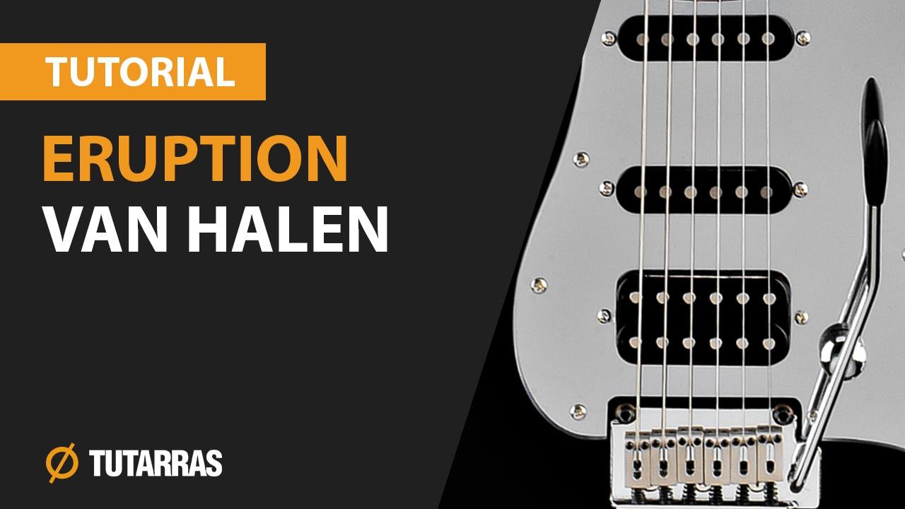 how to play eruption by van halen on guitar