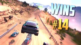 Racing Games WINS Compilation #14 (Close Calls, Drifts, Saves & Lucky Moments)