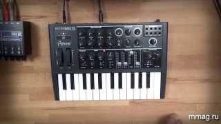mmag.ru: Arturia Microbrute - аналоговый синтезатор - обзор и демо