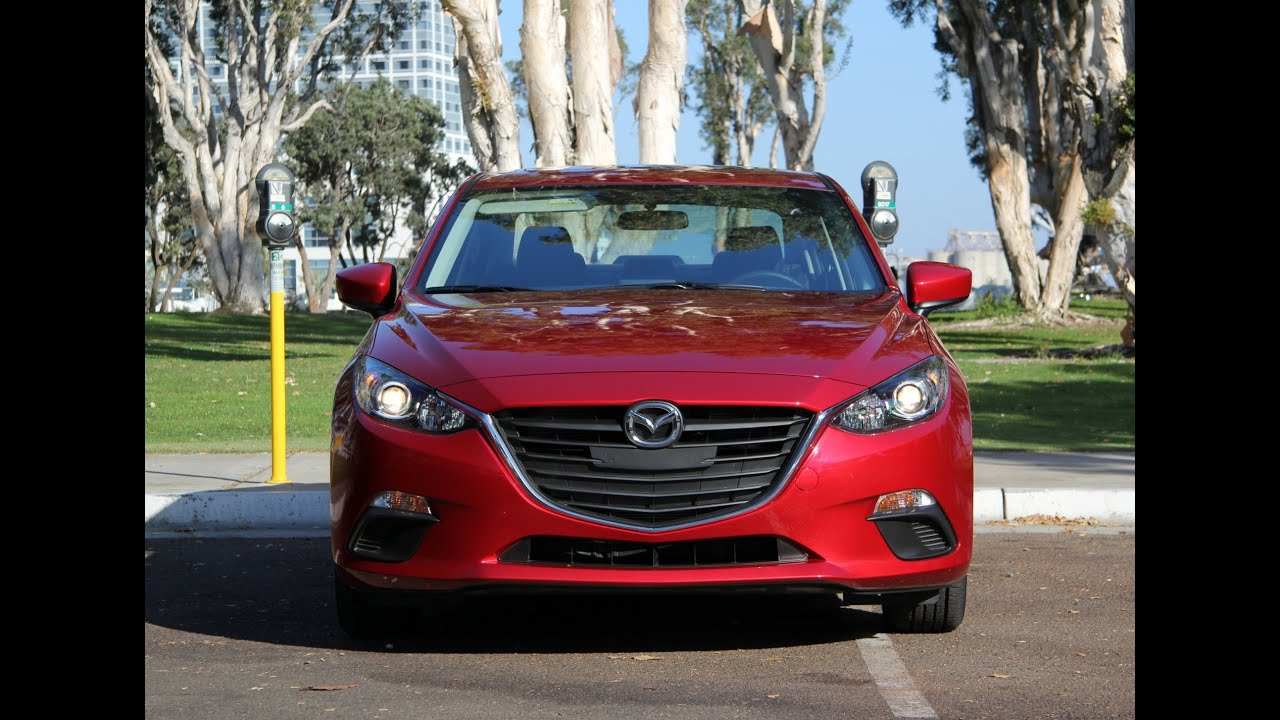 2014 / 2015 mazda mazda3 review and road test - youtube