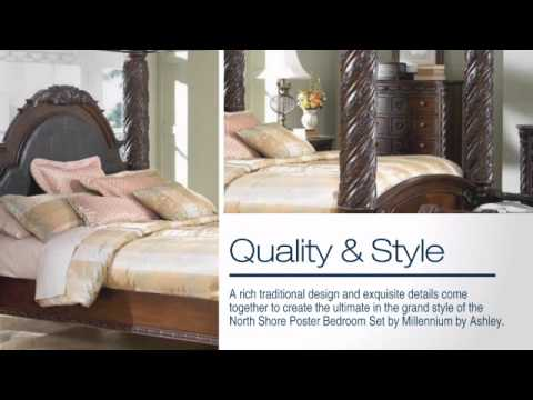 North Shore Poster Bedroom Set From Millenum By Ashley