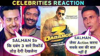 Dabangg 3 Official First Look & Teaser   Bollywood Celebrities Reaction   Salman Khan, Kiccha Sudeep