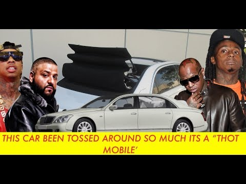 Birdman Sells Maybach Landaulet  To Tyga Then REPOED, Sold To DJ Khaled, This Car A THOT   Allegedly