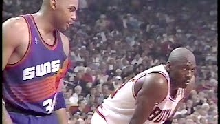 1993 NBA Finals Game 3 - ALL 3 OVERTIMES (with TV ads)