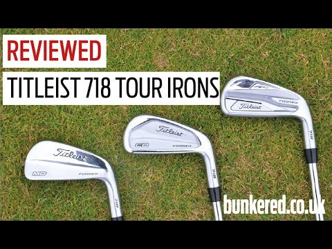 Titleist 718 AP2, CB, MB irons review