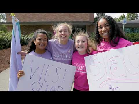 What it's like living in Residence Halls - University of Portland
