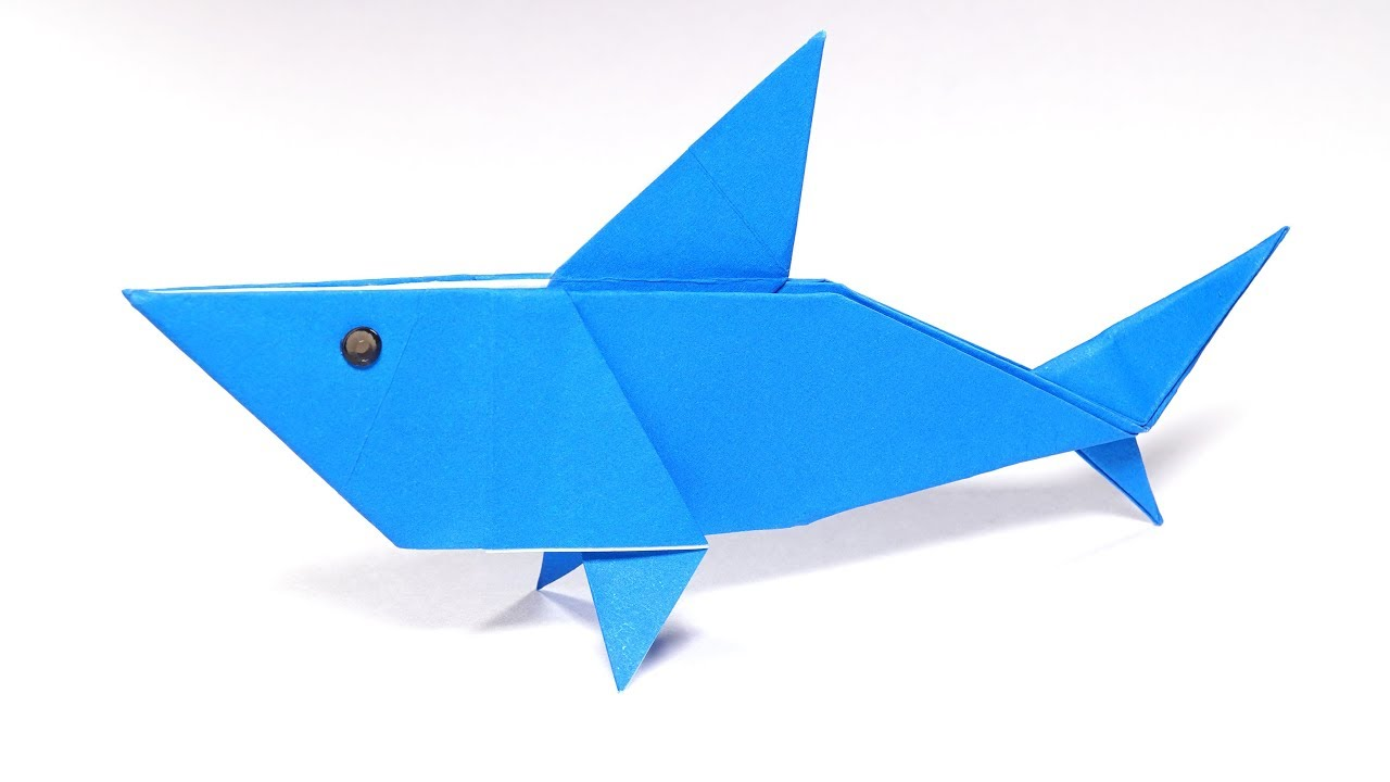 How to Make an Easy Origami Shark   720x1280