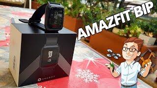 Xiaomi Huami Amazfit BIP - Miglior Smartwatch Economico IP68 con GPS! - Recensione / Unboxing ITA