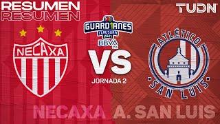 Resumen y goles | Necaxa vs Atl San Luis | Torneo Guard1anes 2021 BBVA MX - J2 |TUDN