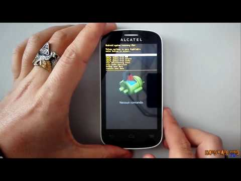 Hard reset Alcatel One Touch Pop C3