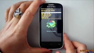 Hard reset Alcatel One Touch Pop C3