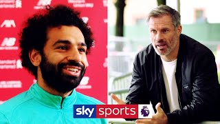 Salah on PL title celebrations and Golden Boot ambitions! | Jamie Carragher meets Mo Salah