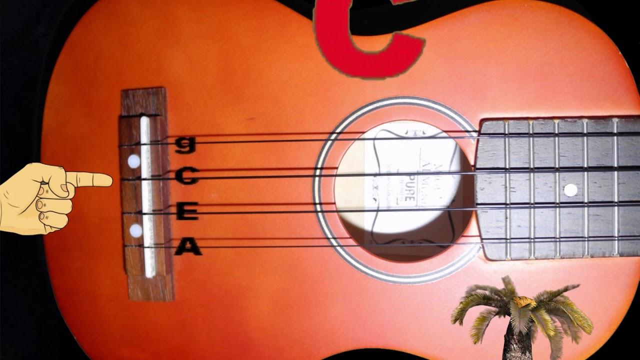 ukulele tuning standard tuning g c e a youtube. Black Bedroom Furniture Sets. Home Design Ideas