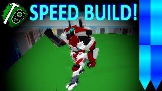 Roblox BYM: Guardian Bravo Part -4 | Speed Build