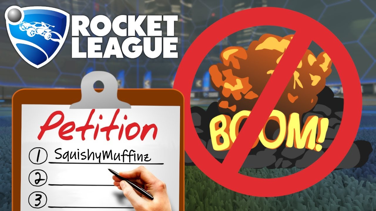 What if demolitions were removed from Rocket League? (new demo update)